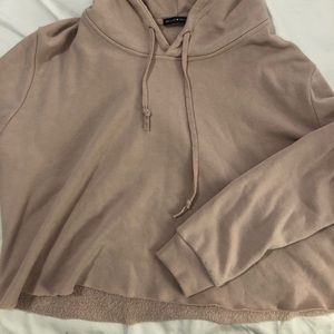 Brandy Melville cropped hoodie